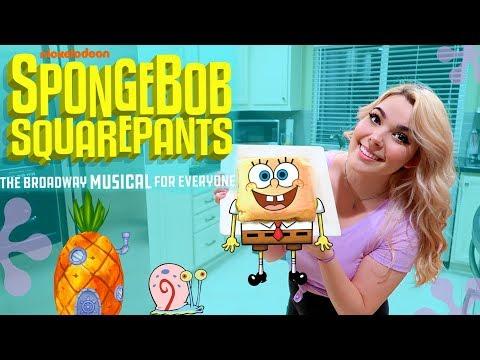 Just a Simple Sponge(cake)   Broadway Bite!   SPONGEBOB THE MUSICAL