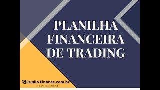 Forex & CFD | Planilha Financeira de Trading  V. 1.02