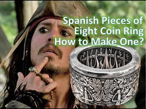 Spanish Pieces of Eight Coin Ring