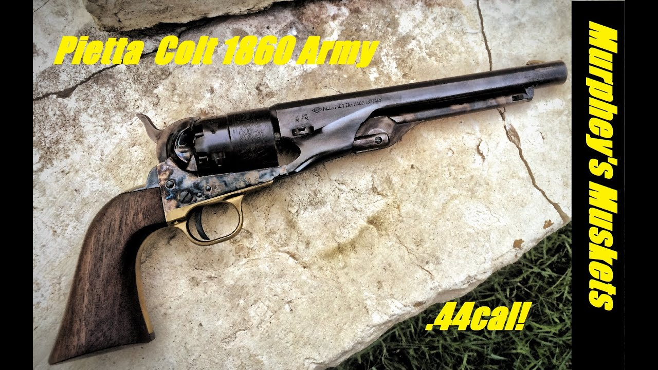 pietta colt 1860 army full review youtube