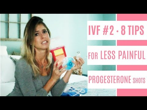 MY JOURNEY THRU IVF #2   8 TIPS for less painful