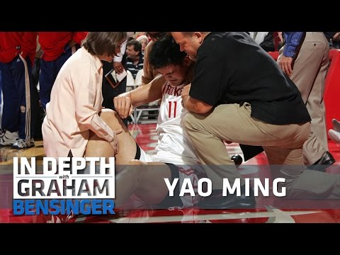 Yao Ming on injuries: My left foot is forever numb