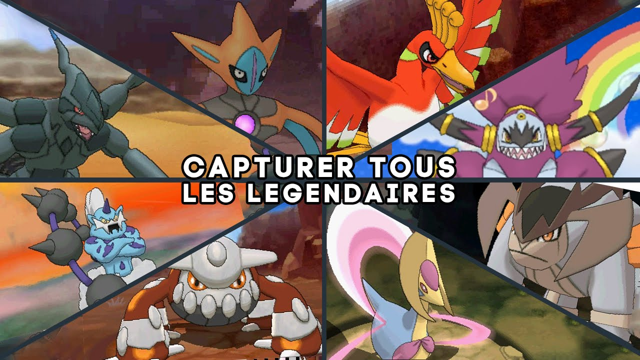 Tous les pokemon legendaires guide rubis om ga saphir alpha youtube - Pokemon version rubis evolution ...