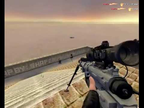 Counter-Strike: Source HD Scout Gameplay
