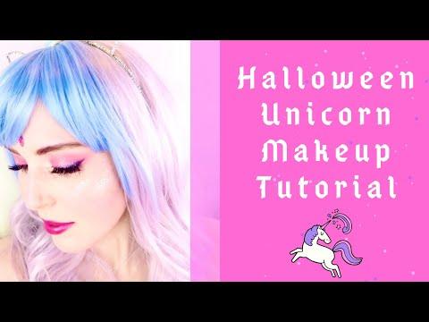 Halloween Unicorn Makeup Tutorial thumbnail