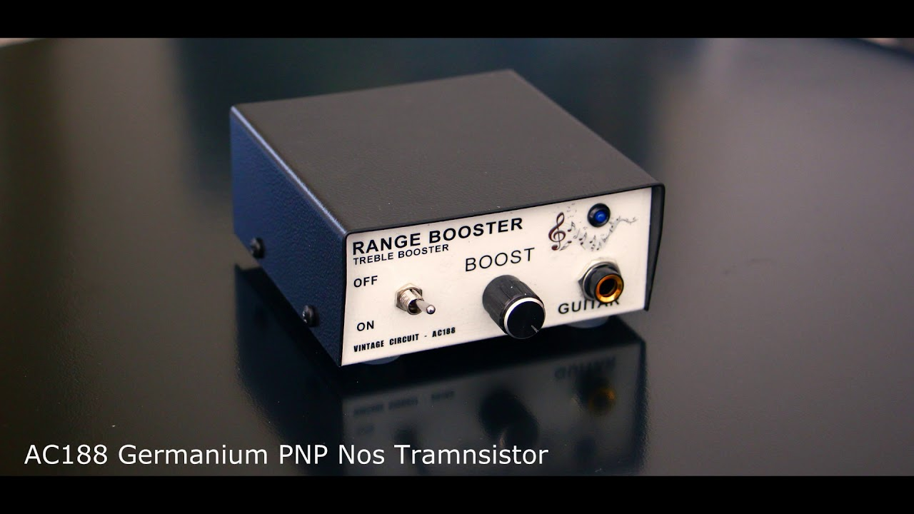 Range Booster Treble Rangemaster Ac188 Germanium Full Circuit Nos Parts Guitar Pedal