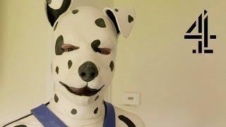Full human Secret of documentary pups life