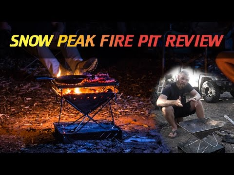 Snow Peak Fire Pit Review