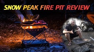 Snow Peak Fire Pit Review thumbnail