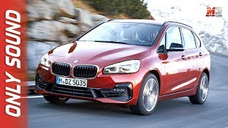 New BMW serie 2 active tourer 2018 - first test drive only sound