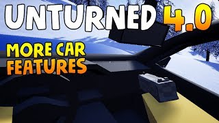 NEW CAR FEATURES! FIRST BETA SOON?! - Unturned 4.0 Devlog #16 Reaction
