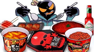 Mukbang Animation Hot spicy fo…