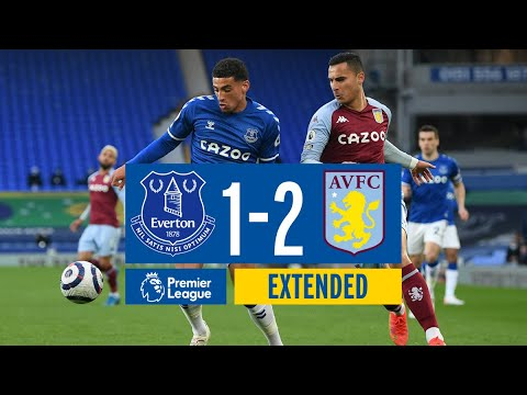 EXTENDED HIGHLIGHTS: EVERTON 1-2 ASTON VILLA