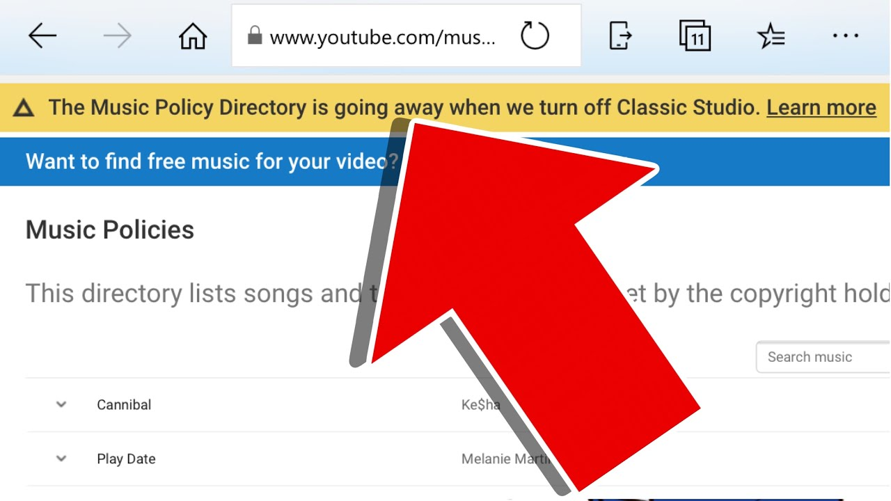Why Youtube Removed The Music Policy Directory Youtube