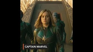 WATCH: Carol Danvers' past and more in new 'Captain Marvel' trailer