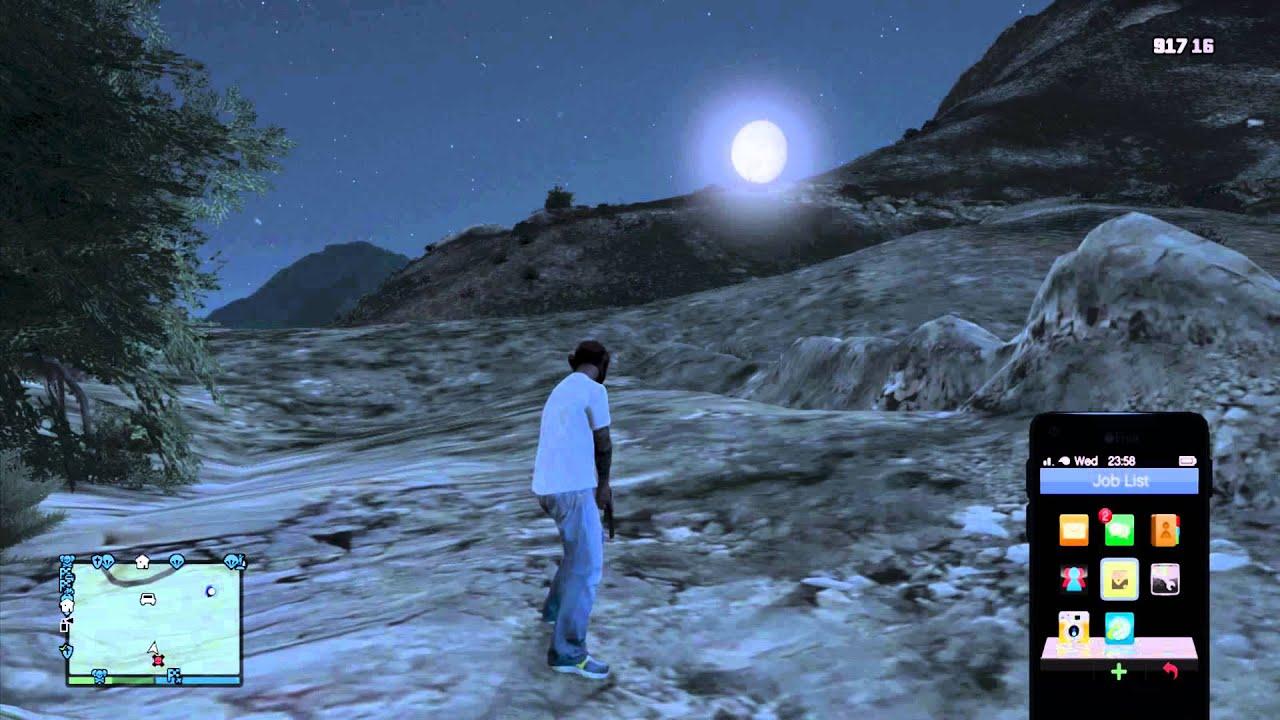 GTA 5 online The Mystery Ghost Girl - YouTube