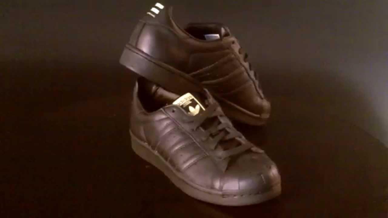 best website 95801 2d71f Adidas Superstar Supershell Pack by Pharrell MR. Sneaker Sculpted Core  Black S83346
