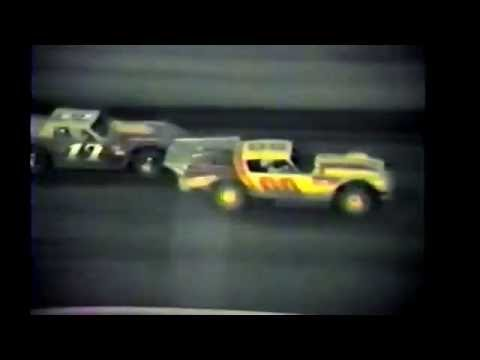 1985 races at Black Hills Speedway #52 Grand National trophy dash
