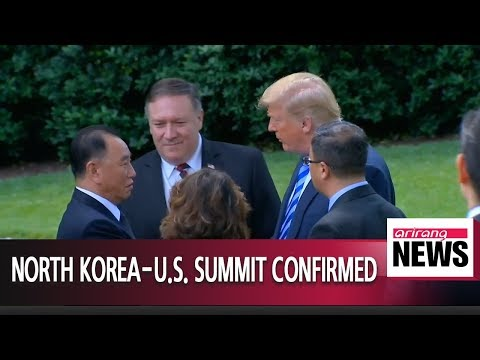 Trump says June 12 Singapore summit back on after meeting with N. Korea's former spy chief