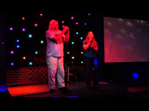 Sarah Sewall Forehand and Mark Cribbs sing Dust In The Wind