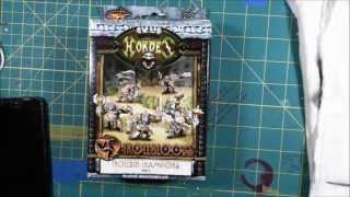 Warmachine Hordes Trollbloods Trollkin Champions Unboxing