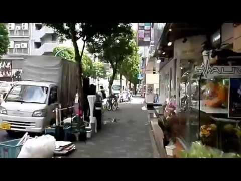 Walking to the Shinjuku Granbell Hotel