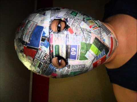 mascara de tobi echa por miii - YouTube