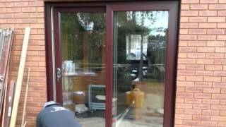 #  (A) RATED Patio door overslade manor drive rugby Thumbnail