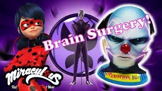 Hawk moth Brain Surgery Game - Miraculous Ladybug Surprise Toys