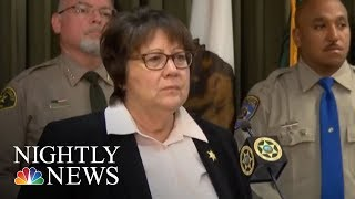 Police Search For Man Shooting Random Drivers In California | NBC Nightly News