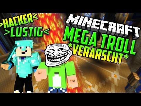 Minecraft MEGA TROLL - EIN HACKER UNTER UNS?? - TEAM REINGELEGT: Lachflash l GommeHD