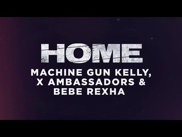 New Music Machine Gun Kelly X Ambassadors Bebe Rexha Home Rap Up