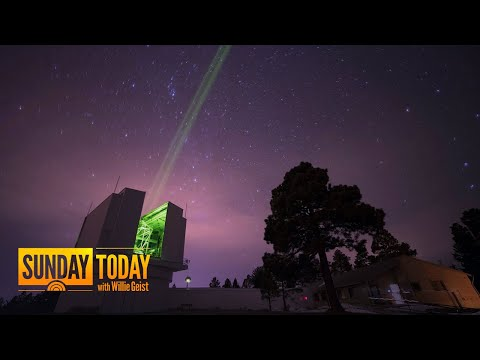 This Powerful Laser Beam Is Helping Track The Moon | Sunday TODAY