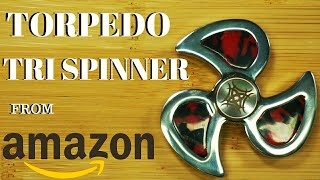 GREAT TORPEDO SPINNER ON AMAZON IN STAINLESS & DUAL GIVEAWAY