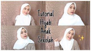 TUTORIAL HIJAB ANAK SEKOLAH SUPER SIMPEL!!!!