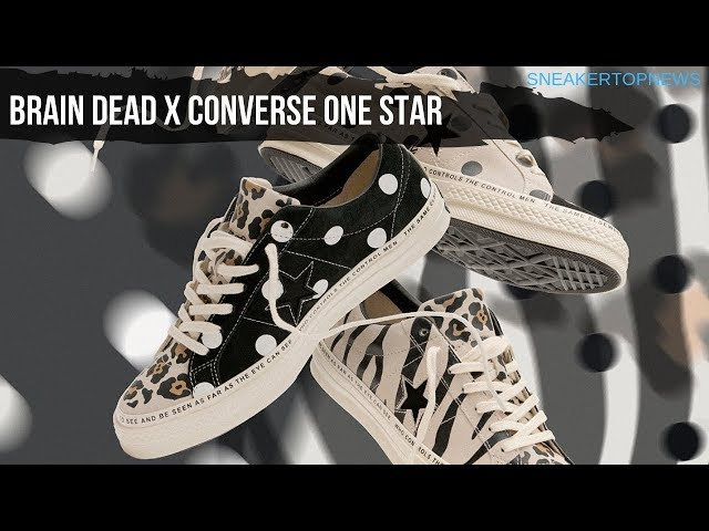 5bf00f9c398304 01 46. Converse And Brain Dead Reunite For A One Star Collaboration