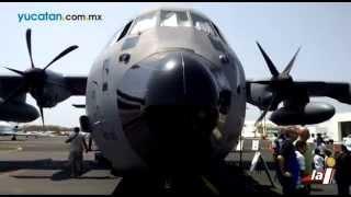 Llega el avión caza huracanes a Mérida