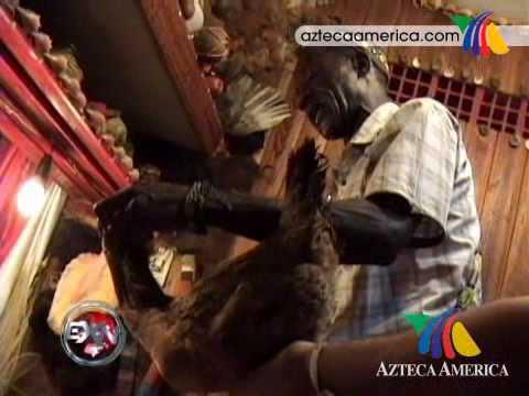 Escalofriantes rituales de Santeria en Cuba