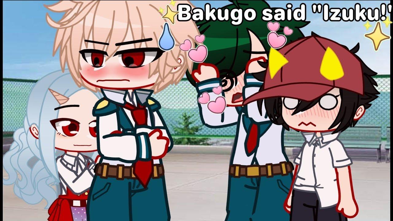 "Bakugo said ""Izuku"" and..💕   BkDk □Wholesome AU□   •butterfly•  "