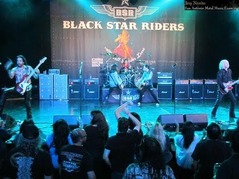 Black Star Riders: Whiskey In The Jar & Rosalie (May 1, 2014: San Antonio, Tx.)