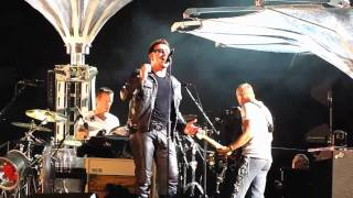 U2 - No Line On The Horizon (busker version) (Helsinki II 2010) -MULTICAM DRAFT-