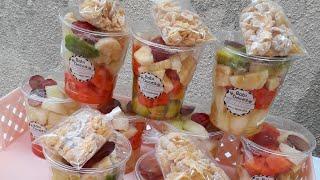 Salada de Frutas Com Sucrilhos e Leite Condensado – Ótimo Para Vendas