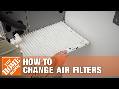 Changing Air Filters The Home Depot