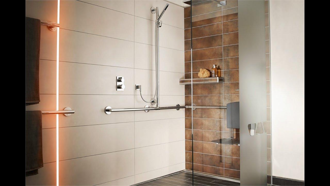 R aliser une douche l 39 italienne accessible et - Siege pour douche italienne ...