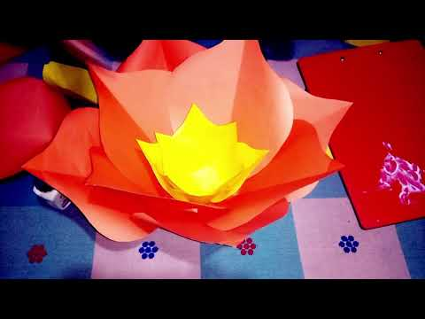 How to make a beautiful flower with paper || Art Queen || Paper Flower