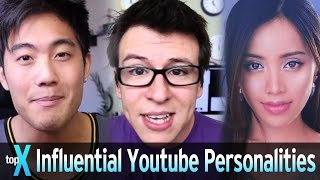 Top 10 Influential YouTube Personalities - TopX Ep.44