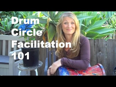 Drum Circle Facilitation 101 with Christine Stevens, MSW, MT-BC