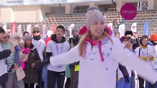 В Алматы на Медеу состоялось открытие «WinterFest» (25.01.12)
