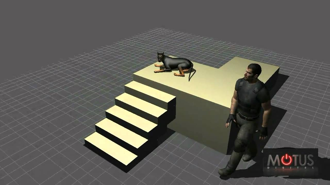 Quadruped Motion Capture Demo
