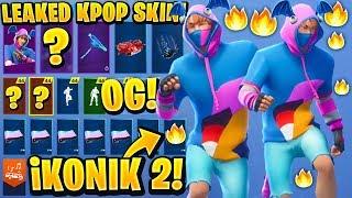 Leaked Fortnite iKONIK Old Design Showcase With All Leaked Emotes..! (Fortnite Leaks)